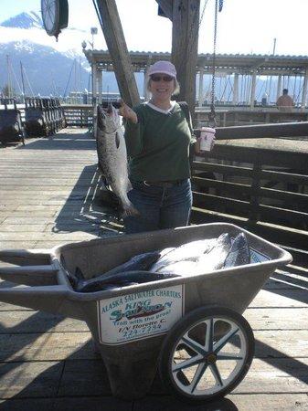Alaska Saltwater Charters: Alaska Saltwater Charter Rocks!