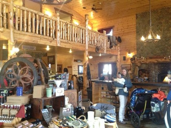 Sisters Coffee Company: another view inside