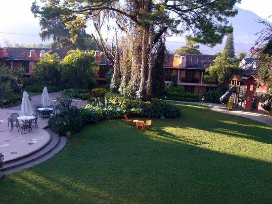 Porta Hotel Antigua: Hermoso Jardin
