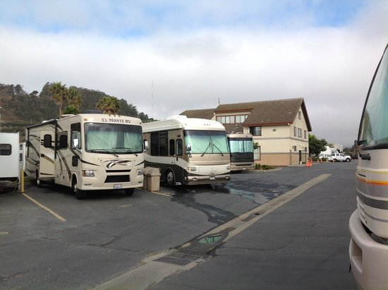 Candlestick RV Park: Our car park