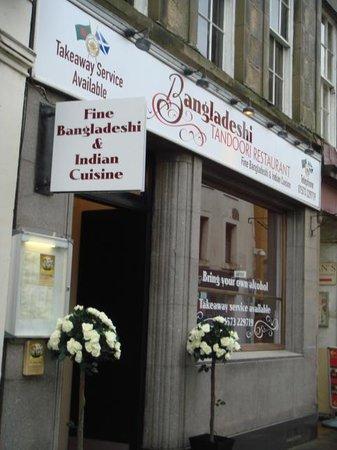 Bangladeshi Tandoori Restaurant: from square of kelso