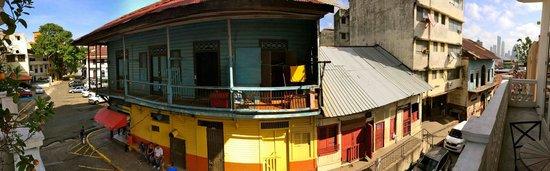 Las Clementinas Hotel: Vue du balcon 1er étage
