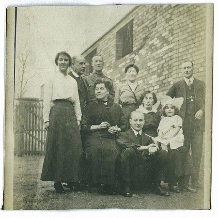Thali Cafe Easton: my ancestors circa 1917 near the cafe
