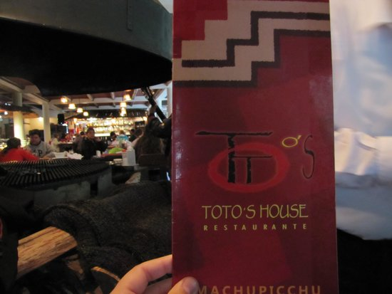 Toto's House: TOTOS HOUSE...