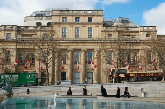 Trafalgar Square: Canada House