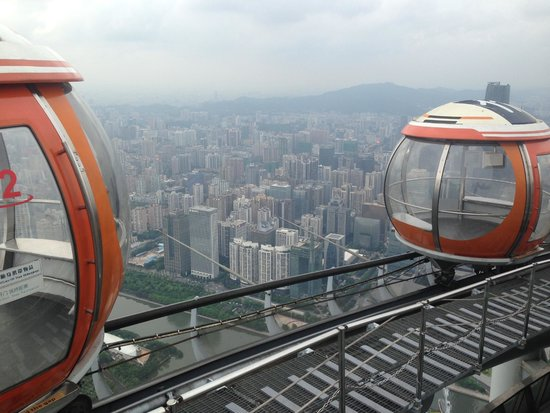 Views from Canton Tower - outside viewing deck