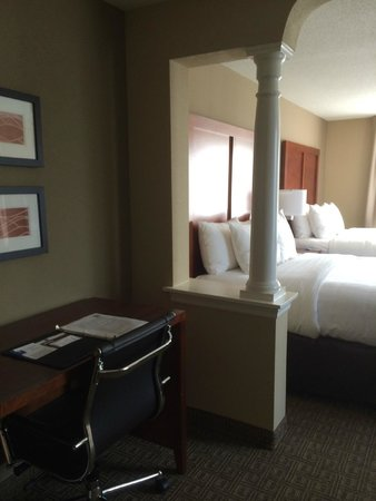 Comfort Inn and Suites Colonial: Desk area
