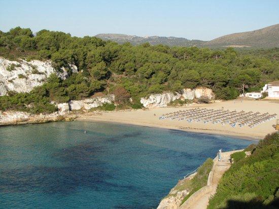Blau Punta Reina Resort: vistas de cala Estany desde mi habitacion