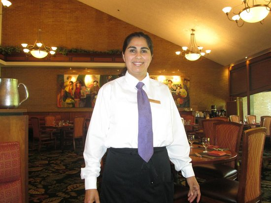 Hilton Northbrook: Rosa Rangel at Restaurant at Hiltons