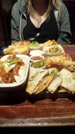 Cafe Restaurant Florin: Mexican platter for 2