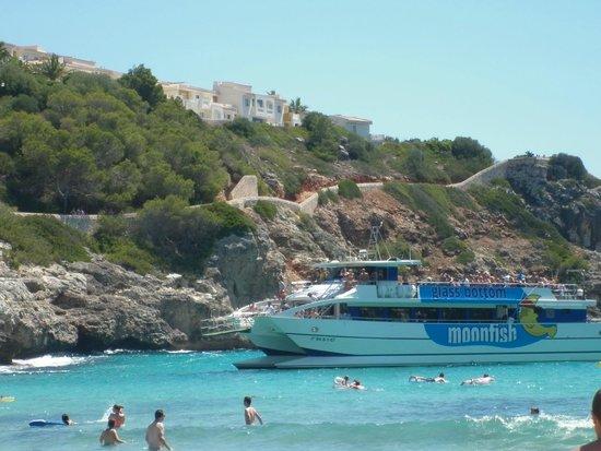 Blau Punta Reina Resort: Cala Estany, vistas del hotel