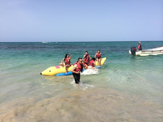 Barcelo Bavaro Beach - Adults Only: Banana boat