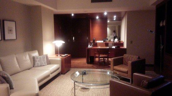 Grand Hyatt Tokyo: 1120 living room