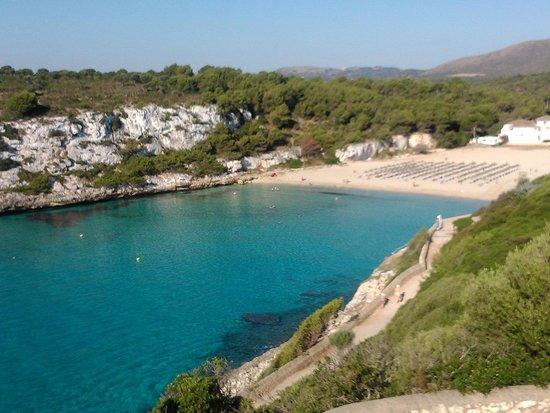 Blau Punta Reina Resort: Cala estany, camino para bajar a la playa