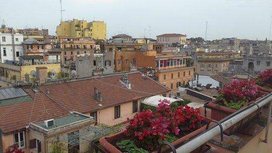 Hotel Viminale: Vista desde una de las terrazas del hotel