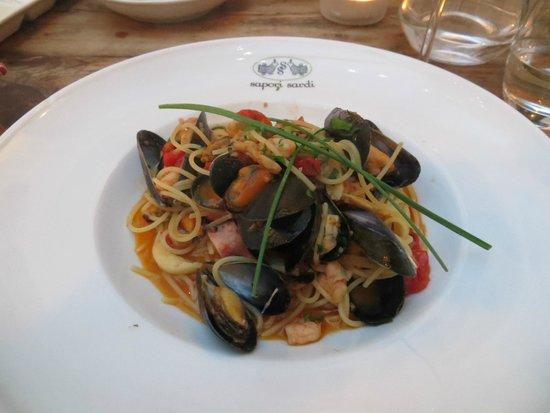 Sapori Sardi : Seafood Spaghetti