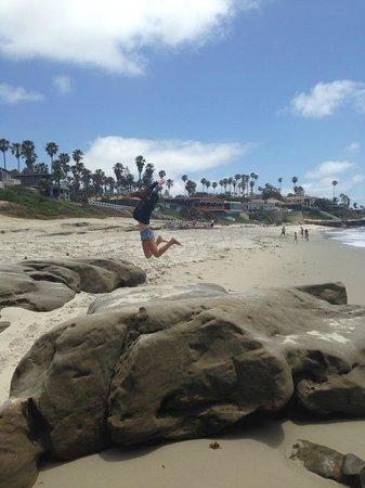 La Jolla Cove: playa