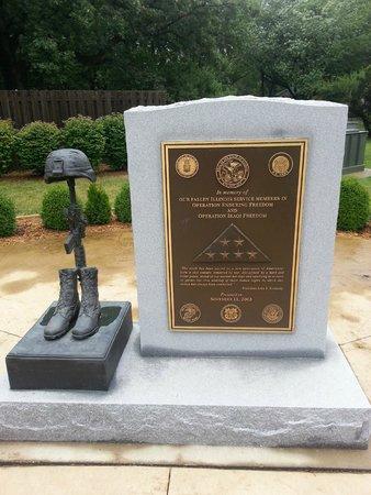 Illinois State Military Museum: Memorial