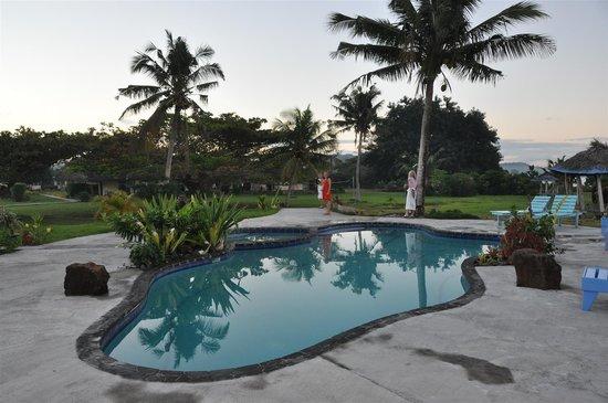 The Savaiian Hotel: Pool area