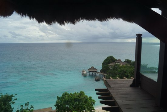 Shangri-La's Boracay Resort & Spa: View from our Villa