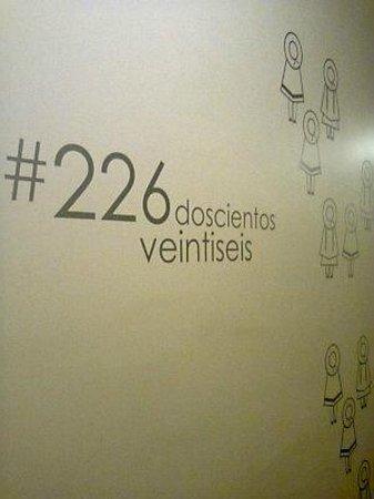 Hotel Posada Del Sol: indicador de numero habitacion, excelente