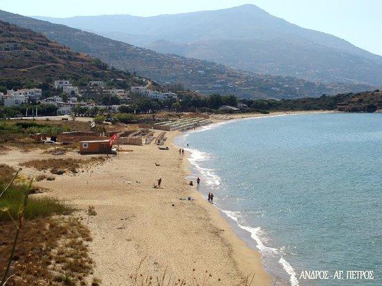 Agios Petros Beach : Άγιος Πέτρος