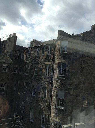 Cityroomz Edinburgh: View from Room 214