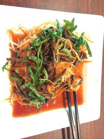 Vivi's Vietnamese Noodle House: Papaya salad