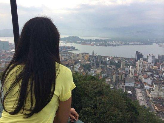 Monte Serrat : admirando a paisagem