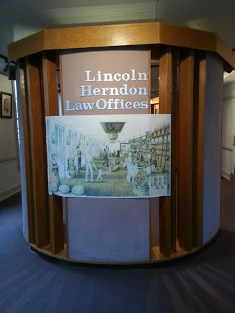 Lincoln-Herndon Law Offices State Historic Site: Law Office Museum Part