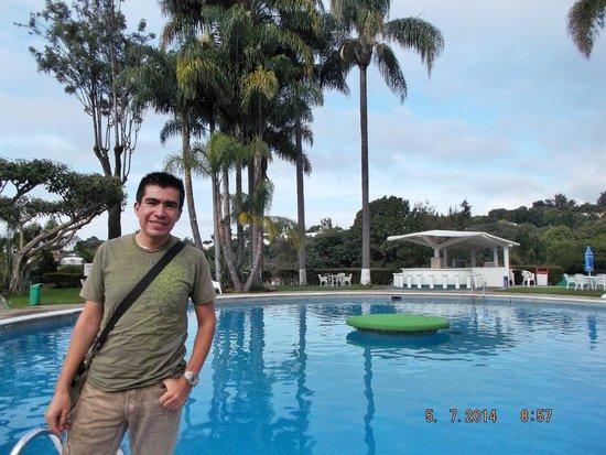 Hotel Aristos Mirador Cuernavaca: Alberca del hotel.