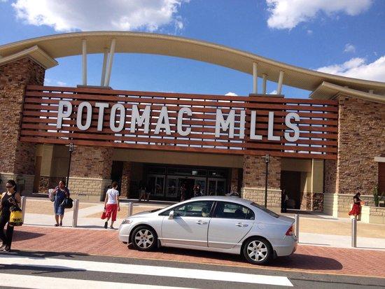 Potomac Mills: Eingang