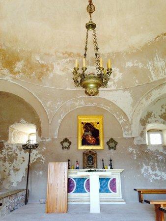 church in Klis Fortress