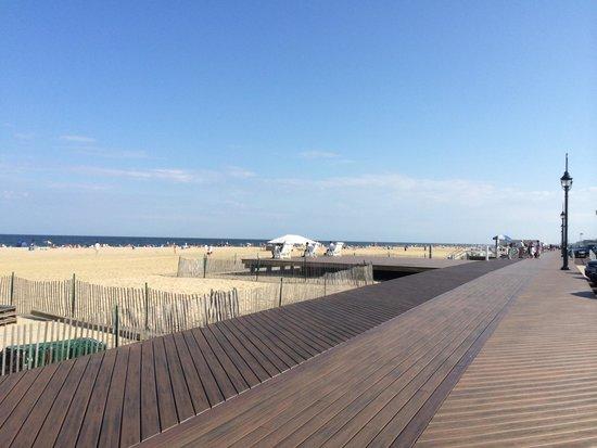 Asbury Park Boardwalk: New boardwalk