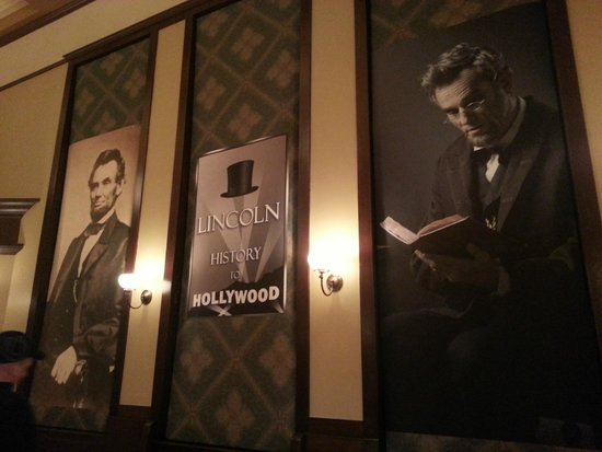 Biblioteca y Museo Presidencial de Abraham Lincoln: Lincoln Movie Exhibit at Union Station