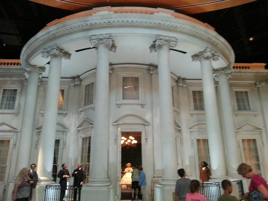 Biblioteca y Museo Presidencial de Abraham Lincoln: The White House
