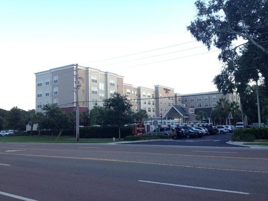 Residence Inn Amelia Island: photo from across the street