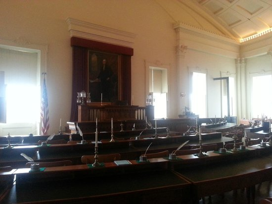Old State Capitol State Historic Site: Representatives Hall