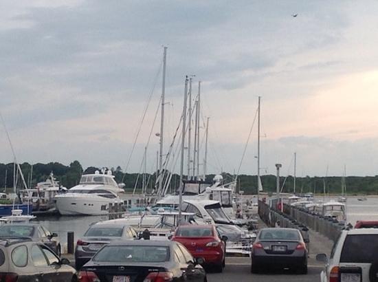 Sail Loft: Patio View