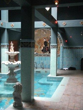 McMenamins Old St. Francis School: the soaking pool