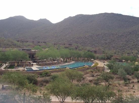 The Ritz-Carlton, Dove Mountain: view from canyon suite