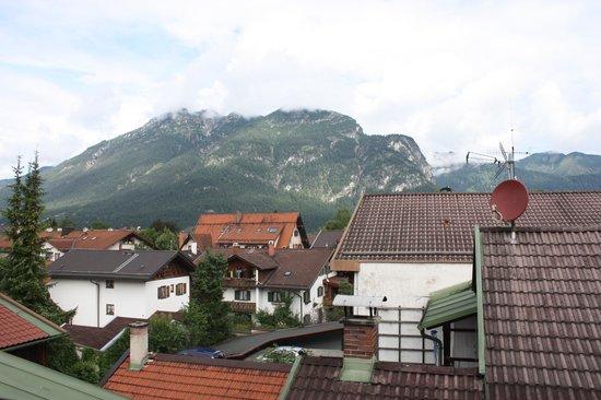 Hotel Gasthof Drei Mohren: Balcony view