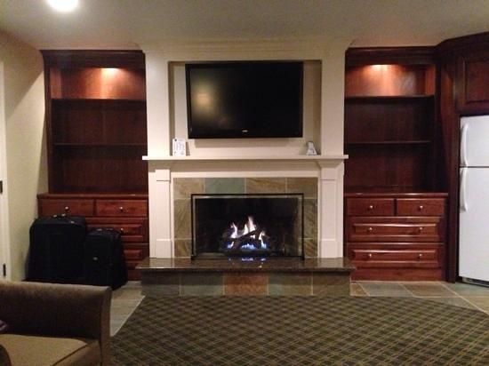 """BEST WESTERN Driftwood Inn: """"Nice to fall asleep to a fire"""""""