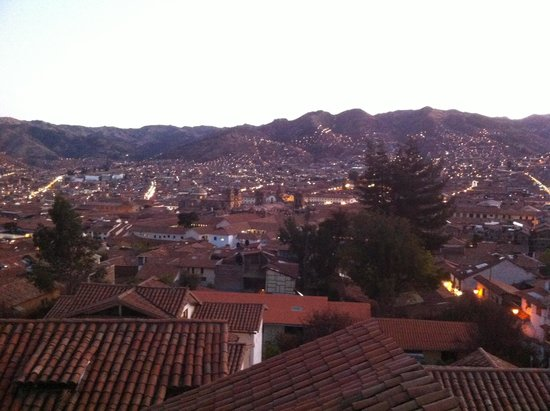 Samay Wasi Youth Hostels Cusco : View from terrace