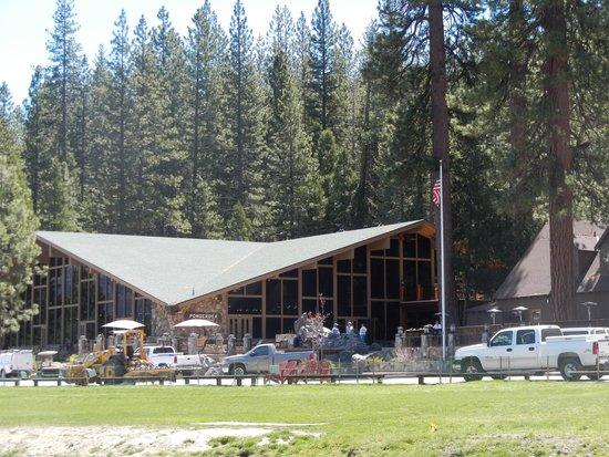 Maswik Lodge : The main building