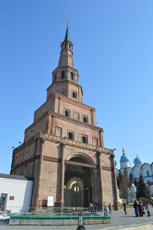 Leaning Suyumbike Tower: torre de Suyumbike em Kazan, Russia