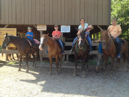 Davy Crockett Riding Stables: Family Adventure!