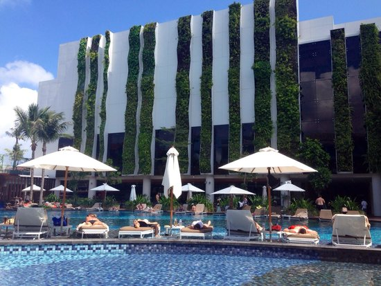 The Stones Hotel - Legian Bali, Autograph Collection: View from timber platform