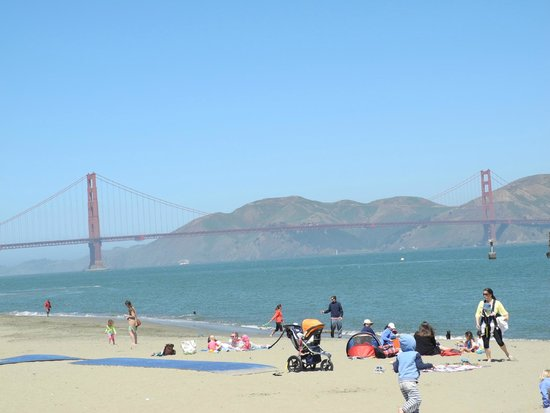 Crissy Field: so many gathered here