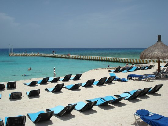 El Cozumeleno Beach Resort : From the beach